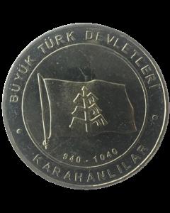 Turquia 1 Kurus 2015 - Kara-Khanid Khanate (Estados Turcos)