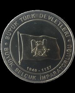 Turquia 1 Kurus 2015 - Seljuk Empire (Estados Turcos)