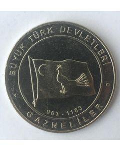Turquia 1 Kurus 2015 - Ghaznavids (Estados Turcos)