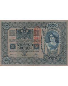 Áustria 1000 Kronen 1919