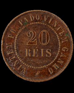 Brasil 20 Réis 1900