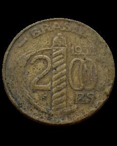 Brasil 2000 Réis 1938 - Poligonal