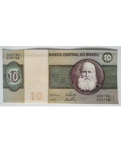 Brasil 10 Cruzeiros 1970 Sob++  C137