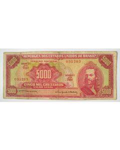 Brasil 1000 Cruzeiros 1964 MBC  - C108