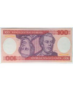 Brasil 100 Cruzeiros 1981 FE  C156
