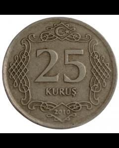 Turquia 25 Kurus 2010