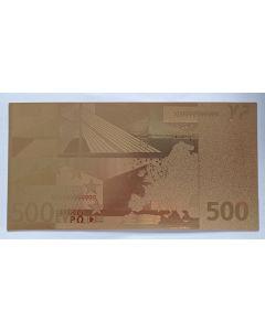 Europa 500 Euro FE *Exonumia*