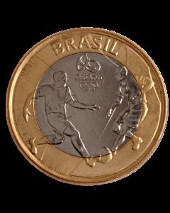 Brasil 1 Real 2015 - XXXI Jogos Olímpicos de Verão, Rio de Janeiro 2016 - Futebol