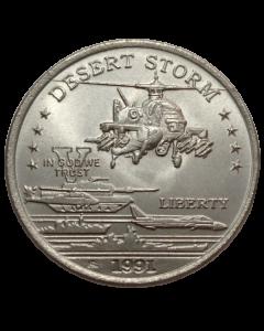 Principado de Hutt River 5 Dólares 1991 FC - Helicóptero de ataque US AH-64 Apache