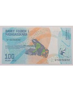 Madagascar 100 Ariary 2017 FE