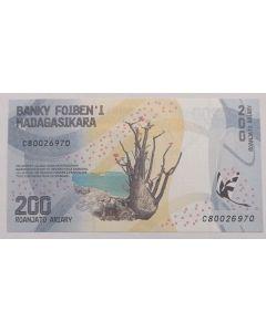 Madagascar 200 Ariary 2017 FE