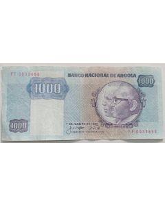 Angola 1000  Kwanzas 1984