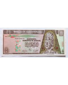 Guatemala 1/2 Quetzal 1998 FE