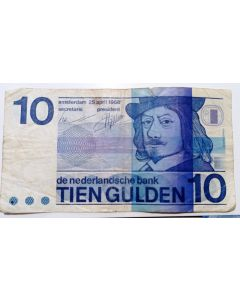 Holanda 10 Gulden 1968
