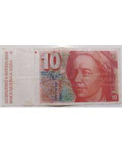 Suíça 10 Francos (1979-1992)
