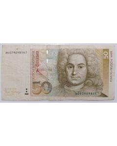 Alemanha 50 Marks 1989