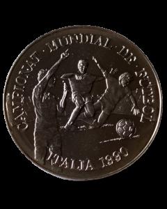 Andorra 10 Diners 1989 (Prata) - Campeonato do mundo FIFA 1990 - Falta