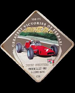 Palau 1 Dólar 2011 FC - Greatest Victories of Ferrari - 158 F1, John Surtees