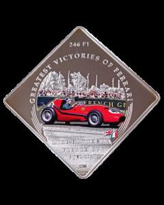 Palau 1 Dólar 2011 FC - Greatest Victories of Ferrari - 246 F1, Mike Hawthorn