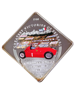 Palau 1 Dólar 2011 FC - Greatest Victories of Ferrari - D50, Juan Manuel Fangio