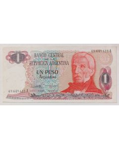 Argentina 1 Peso Argentino 1983 FE