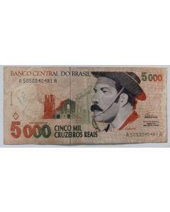 Brasil 5000 Cruzeiros Reais 1993 C239 - Gaúcho