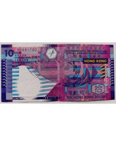 Hong Kong 10 Dólares 2002 (Papel)