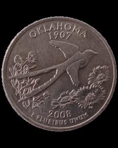 Estados Unidos ¼ dólar 2008 P - Oklahoma State Quarter