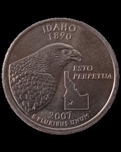 Estados Unidos ¼ dólar 2007 P - Idaho State Quarter