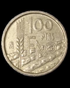 Espanha 100 Pesetas 1995 FAO