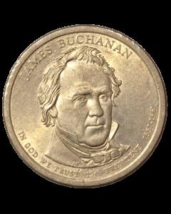 Estados Unidos 1 Dólar 2008 - Presidente dos EUA - James Buchanan (1857-1861)
