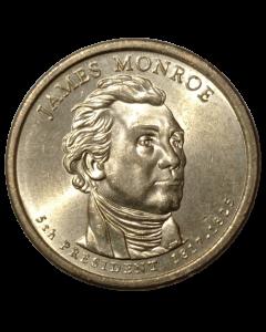 Estados Unidos 1 Dólar 2008 - Presidente dos EUA - James Monroe (1817-1825)