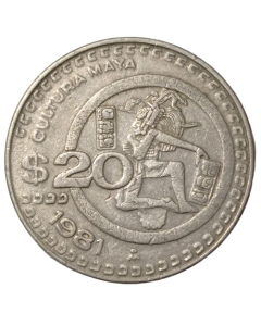 México 20 Pesos 1981