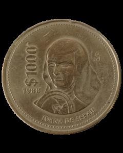 México 1000 Pesos 1988