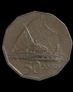 Fiji 50 Cêntimos 1995