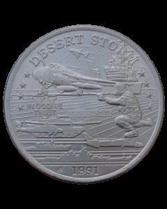 Principado de Hutt River 5 Dólares 1991 FC - U.S. A-6E Intruder Attack Jet