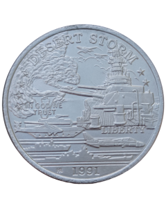 Principado de Hutt River 5 Dólares 1991 FC - USS Missouri Battleship