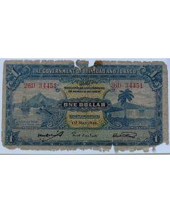 Trinidad e Tobago 1 Dólar 1942
