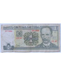 Cuba 1 Peso 2010