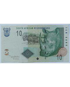 África do Sul 10 Rand 2005
