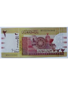 Sudão 2 Libras 2011 FE