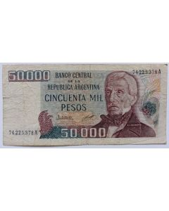 Argentina 50.000 Pesos 1979