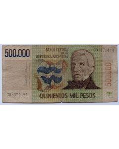 Argentina 500.000 pesos 1982