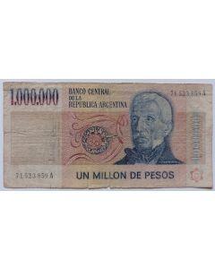 Argentina 1.000.000 pesos 1981
