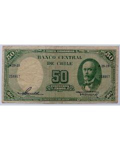 Chile 50 Pesos 1958