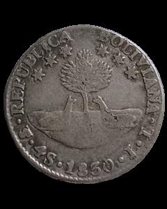 Bolívia 4 Sueldos 1830 JL - Prata