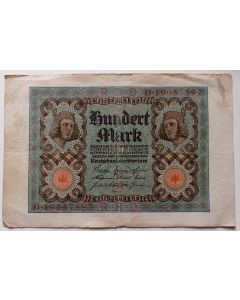 Alemanha 100 Mark 1920