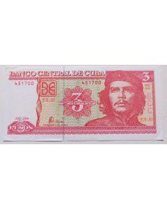 Cuba 3 Pesos 2004 - Che Guevara
