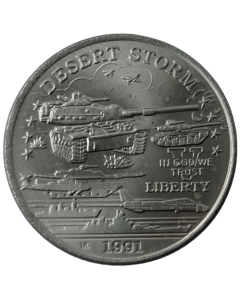 Principado de Hutt River 5 Dólares 1991 FC - U.S. M60 Tank