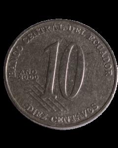 Equador 10 centavos 2000